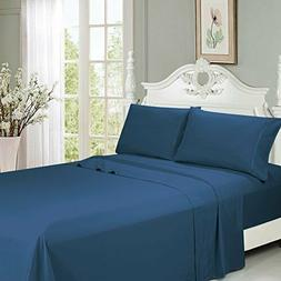 "King Size Bed Sheet Set 6 PCS 18""Deep Pocket Ultra Soft Cool"