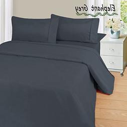 Soft & Luxurious HS Linen !! 4-Pieces Comfortable SOLID Patt