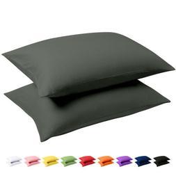 Ultra Soft Luxury Pillowcases Set of 2 King Size Brushed Mic