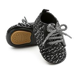 LUWU Baby Boy Girls Soft Sole Anti-Slip Infant Toddler First