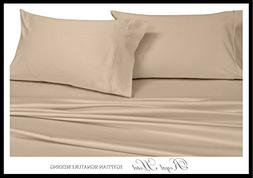 Royal Hotel Top-Split-King: Adjustable King Bed Sheets 4PC S
