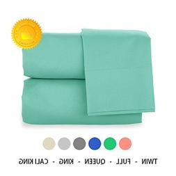 H Bedding 4pcs Solid Color Brushed Microfiber 1800 Bedding -