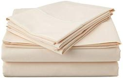 Rinku Linen Solid Pattern 1500 Thread Count Heavy Fabric Egy