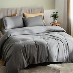 """SONORO KATE Bed Sheet Set Bamboo Sheets Deep Pockets 16"""" Eco"""