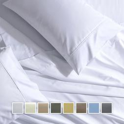 Split California King Sheets 650 TC 5 Piece Wrinkle Free Sol