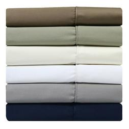 Split Top  King Sheets 340 Thread Count 100% Cotton Solid Sh