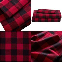 Stone  Beam Rustic Buffalo Check Soft And Breathable Flannel