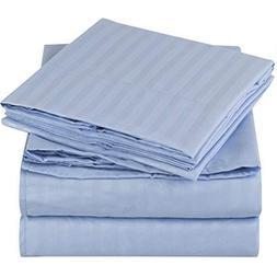 """Linenwala 4 PC Bedding sheet set 6"""" Deep pocket 400 TC 100%"""