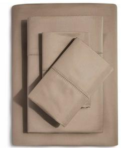 Supima Classic Hemstitch Cal King Sheet Set 700 Thread Count