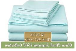 Clara Clark Supreme 1500 Collection 6 Piece Bed Sheet Set, I