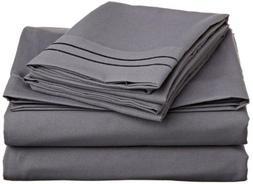 Clara Clark Supreme 1500 Series, King Size 4 Pc. Sheet set,