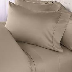 Luxurious Wrinkle-Free 4pc Brushed Microfiber Bed Sheet Set,