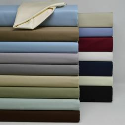 Split Top King Sheet Set Head Split 100% Cotton Luxury Satee