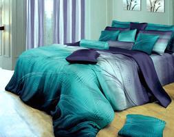Twilight-P 100% Cotton Bedding Set: Duvet Cover Set or Sheet