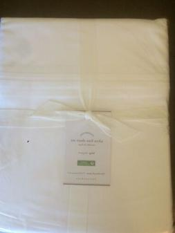 POTTERY BARN Ultra Fine 700 Count Cotton KING Sheets 4 Piece
