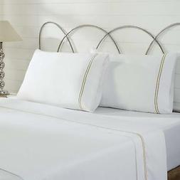 Amrapur Overseas Ultra-Soft 1000 Thread Count 4-Piece Cotton