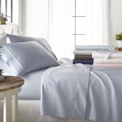 Home Collection Ultra Soft 800 Thread Count 4 Piece Cotton R