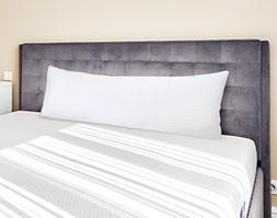 Utopia Bedding Ultra Soft Zippered Body Pillow Cases - Brush