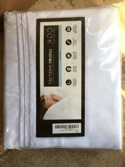 unlimited luxury sheet set twin xl white