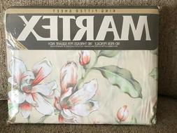 Vintage Martex No-Iron Percale KING FITTED sheet 180 threads