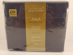 Wamsutta® Dream Zone 1000 TC PimaCott KING Sheet Set Navy N