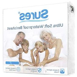 Sures Waterproof Mattress Protector - King Size Bedsheet - F
