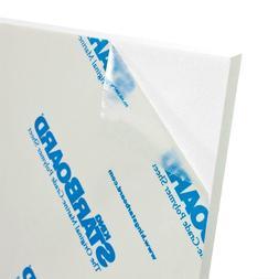 "White King Starboard HDPE Polymer Plastic Sheet 1/2"" - 0.5"