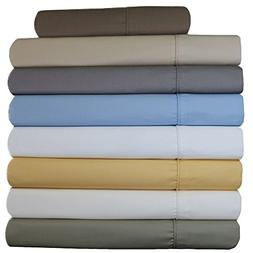 Abripedic Wrinkle Free Sheets, 650 Thread Count, Deep Pocket
