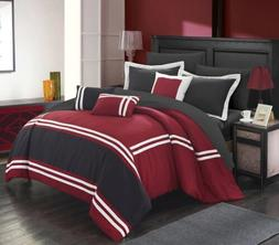 Chic Home Zarah 10 Piece Comforter Set Complete Bed in a Bag